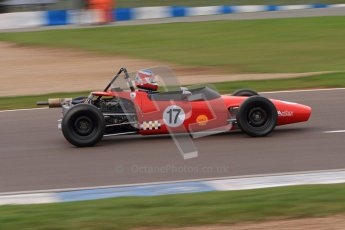 © Octane Photographic Ltd. HSCC Donington Park 17th March 2012. Historic Formula Ford Championship. Brian Morris - Macon MR7. Digital ref : 0240lw7d5025