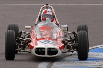© Octane Photographic Ltd. HSCC Donington Park 17th March 2012. Historic Formula Ford Championship. Stuart Dix - Cooper Chinook. Digital ref : 0240lw7d5054