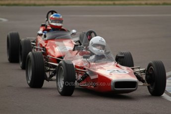 © Octane Photographic Ltd. HSCC Donington Park 17th March 2012. Historic Formula Ford Championship. Philip Walker - Crossle 16F. Digital ref : 0240lw7d5117