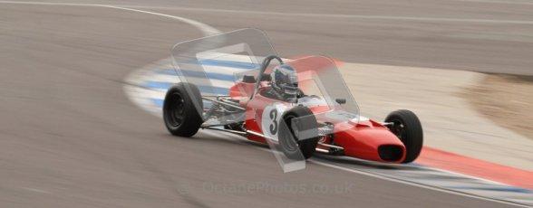 © Octane Photographic Ltd. HSCC Donington Park 17th March 2012. Historic Formula Ford Championship. John Murphy - Merlyn Mk20A. Digital ref : 0240lw7d5169