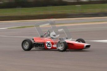 © Octane Photographic Ltd. HSCC Donington Park 17th March 2012. Historic Formula Ford Championship. John Slack - Lola T200. Digital ref : 0240lw7d5268