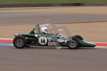© Octane Photographic Ltd. HSCC Donington Park 17th March 2012. Historic Formula Ford Championship. Roy MacGregor - Hawke DL2B. Digital ref : 0240lw7d5308