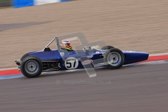 © Octane Photographic Ltd. HSCC Donington Park 17th March 2012. Historic Formula Ford Championship. David Wild - Lola T200. Digital ref : 0240lw7d5327