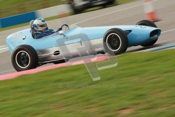 © Octane Photographic Ltd. HSCC Donington Park 17th March 2012. Historic Formula Junior Championship (Front engine). Keith Roach - Condor S2. Digital ref : 0241cb1d7121