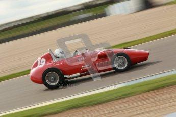 © Octane Photographic Ltd. HSCC Donington Park 17th March 2012. Historic Formula Junior Championship (Front engine). Jan Biekens - Stanguellini FJ. Digital ref : 0241cb1d7149