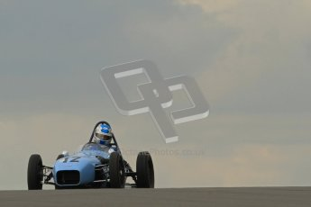 © Octane Photographic Ltd. HSCC Donington Park 17th March 2012. Historic Formula Junior Championship (Front engine). Stuart Roach - Alexis MK2. Digital ref : 0241cb7d3842