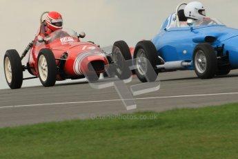 © Octane Photographic Ltd. HSCC Donington Park 17th March 2012. Historic Formula Junior Championship (Front engine). Keith Roach - Condor S2. Digital ref : 0241cb7d3868