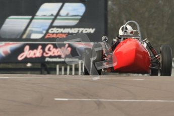 © Octane Photographic Ltd. HSCC Donington Park 17th March 2012. Historic Formula Junior Championship (Front engine). Digital ref : 0241cb7d3902