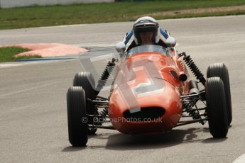 © Octane Photographic Ltd. HSCC Donington Park 17th March 2012. Historic Formula Junior Championship (Front engine). Derek Walker - Terrier Mk IV. Digital ref : 0241cb7d3952