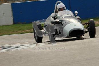 © Octane Photographic Ltd. HSCC Donington Park 17th March 2012. Historic Formula Junior Championship (Front engine). Richard Pugh - Stanguellini. Digital ref : 0241cb7d3963