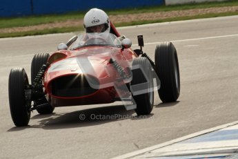 © Octane Photographic Ltd. HSCC Donington Park 17th March 2012. Historic Formula Junior Championship (Front engine). Andrew Tart - Bond FJ. Digital ref : 0241cb7d3975