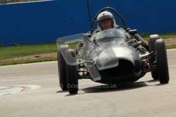 © Octane Photographic Ltd. HSCC Donington Park 17th March 2012. Historic Formula Junior Championship (Front engine). William Grimshaw - Moorland Mk1. Digital ref : 0241cb7d3984