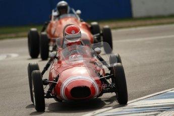 © Octane Photographic Ltd. HSCC Donington Park 17th March 2012. Historic Formula Junior Championship (Front engine). Keith Roach - Condor S2. Digital ref : 0241cb7d4017
