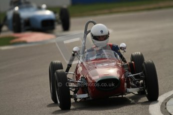 © Octane Photographic Ltd. HSCC Donington Park 17th March 2012. Historic Formula Junior Championship (Front engine). Digital ref : 0241cb7d4045