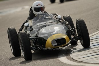 © Octane Photographic Ltd. HSCC Donington Park 17th March 2012. Historic Formula Junior Championship (Front engine). Digital ref : 0241cb7d4053