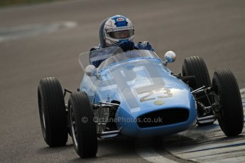 © Octane Photographic Ltd. HSCC Donington Park 17th March 2012. Historic Formula Junior Championship (Front engine). Keith Roach - Condor S2. Digital ref : 0241cb7d4086