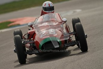 © Octane Photographic Ltd. HSCC Donington Park 17th March 2012. Historic Formula Junior Championship (Front engine). Michael Ashley-Brown - Volpini Monoposto. Digital ref : 0241cb7d4096