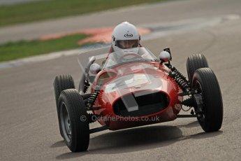 © Octane Photographic Ltd. HSCC Donington Park 17th March 2012. Historic Formula Junior Championship (Front engine). Andrew Tart - Bond FJ. Digital ref : 0241cb7d4143