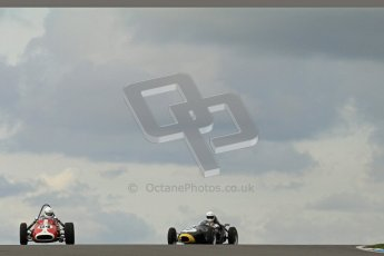 © Octane Photographic Ltd. HSCC Donington Park 17th March 2012. Historic Formula Junior Championship (Front engine). Richard Ellingworth - Gemini Mk2. Digital ref : 0241lw7d5432