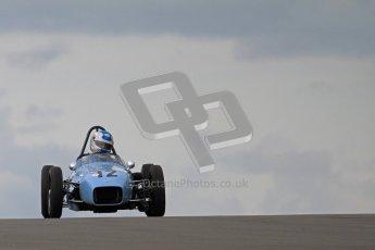 © Octane Photographic Ltd. HSCC Donington Park 17th March 2012. Historic Formula Junior Championship (Front engine). Stuart Roach - Alexis MK2. Digital ref : 0241lw7d5440