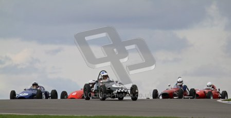 © Octane Photographic Ltd. HSCC Donington Park 17th March 2012. Historic Formula Junior Championship (Front engine). Stephen Barlow - BMC MK1. Digital ref : 0241lw7d5453