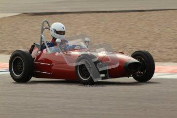 © Octane Photographic Ltd. HSCC Donington Park 17th March 2012. Historic Formula Junior Championship (Front engine). Digital ref : 0241lw7d6077