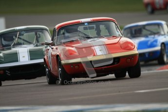 © Octane Photographic Ltd. HSCC Donington Park 17th March 2012. Historic Road Sports Championship. Larry Kennedy - Lotus Elan S4. Digital ref : 0242cb7d4262