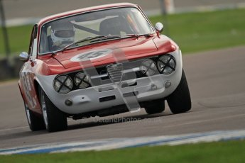 © Octane Photographic Ltd. HSCC Donington Park 17th March 2012. Historic Road Sports Championship. Johan Denekamp - Alfa Romeo GTV. Digital ref : 0242cb7d4312