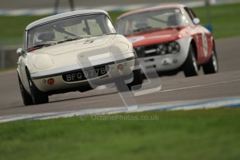 © Octane Photographic Ltd. HSCC Donington Park 17th March 2012. Historic Road Sports Championship. Peter Shaw - Lotus Elan S4. Digital ref : 0242cb7d4494