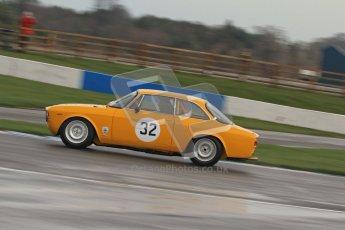 © Octane Photographic Ltd. HSCC Donington Park 18th March 2012. Historic Touring car Championship (over 1600cc). Ken Lark - Alfa Romeo Junior. Digital ref : 0249lw7d0141
