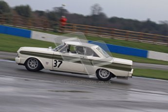 © Octane Photographic Ltd. HSCC Donington Park 18th March 2012. Historic Touring car Championship (over 1600cc). Mike Gardiner - Ford Falcon. Digital ref : 0249lw7d0160