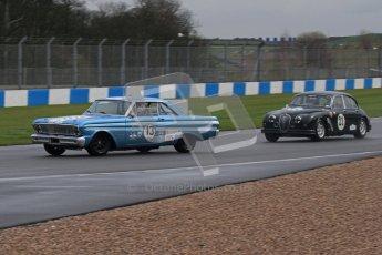 © Octane Photographic Ltd. HSCC Donington Park 18th March 2012. Historic Touring car Championship (over 1600cc). Chris Clackson - Ford Falcon. Digital ref : 0249lw7d9836