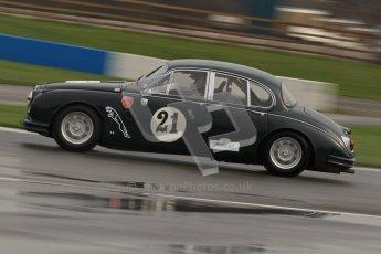 © Octane Photographic Ltd. HSCC Donington Park 18th March 2012. Historic Touring car Championship (over 1600cc). Graeme Dodd - Jaguar Mkii. Digital ref : 0249lw7d9915