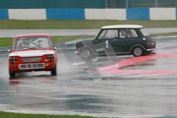 © Octane Photographic Ltd. HSCC Donington Park 18th May 2012. Historic Touring car Championship (up to 1600cc). Roger Godfrey - Austin Cooper S. Digital ref : 0246cb1d7970