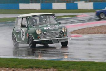 © Octane Photographic Ltd. HSCC Donington Park 18th May 2012. Historic Touring car Championship (up to 1600cc). Roger Phillips - Austin Mini Cooper S. Digital ref : 0246cb1d7990