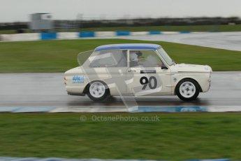 © Octane Photographic Ltd. HSCC Donington Park 18th May 2012. Historic Touring car Championship (up to 1600cc). Jon Orr - Hillman Imp. Digital ref : 0246cb1d7999