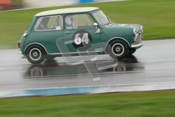 © Octane Photographic Ltd. HSCC Donington Park 18th May 2012. Historic Touring car Championship (up to 1600cc). Peter Crewes - Austin Cooper S. Digital ref : 0246cb1d8002