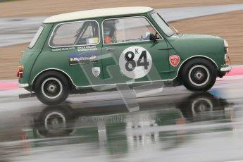 © Octane Photographic Ltd. HSCC Donington Park 18th May 2012. Historic Touring car Championship (up to 1600cc). Roger Phillips - Austin Mini Cooper S. Digital ref : 0246cb1d8074