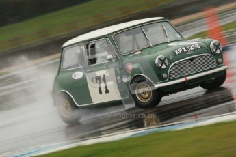 © Octane Photographic Ltd. HSCC Donington Park 18th May 2012. Historic Touring car Championship (up to 1600cc). Marc Earnshaw - Austin Mini Cooper S. Digital ref : 0246cb1d8125