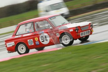 © Octane Photographic Ltd. HSCC Donington Park 18th May 2012. Historic Touring car Championship (up to 1600cc). Steve Platts - Singer Chamois. Digital ref : 0246cb1d8156