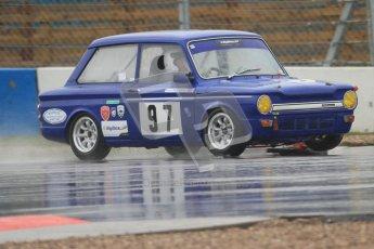 © Octane Photographic Ltd. HSCC Donington Park 18th May 2012. Historic Touring car Championship (up to 1600cc). David Heale - Hillman Imp. Digital ref : 0246cb7d5456
