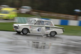 © Octane Photographic Ltd. HSCC Donington Park 18th May 2012. Historic Touring car Championship (up to 1600cc). Neil Brown - Ford Lotus Cortina. Digital ref : 0246lw7d8372