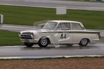 © Octane Photographic Ltd. HSCC Donington Park 18th May 2012. Historic Touring car Championship (up to 1600cc). Tim Davis - Ford Cortina. Digital ref : 0246lw7d8493