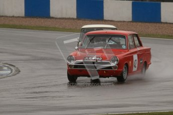 © Octane Photographic Ltd. HSCC Donington Park 18th May 2012. Historic Touring car Championship (up to 1600cc). Robert Rook - Ford Cortina. Digital ref : 0246lw7d8520