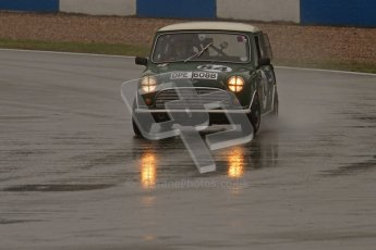 © Octane Photographic Ltd. HSCC Donington Park 18th May 2012. Historic Touring car Championship (up to 1600cc). Roger Phillips - Austin Mini Cooper S. Digital ref : 0246lw7d8721