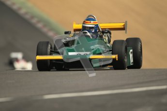 © 2012 Octane Photographic Ltd. HSCC Historic Super Prix - Brands Hatch - 30th June 2012. HSCC - Classic Formula 3 - Qualifying. Geoff Hoodless - March 803. Digital Ref: 0381lw1d8170