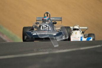 © 2012 Octane Photographic Ltd. HSCC Historic Super Prix - Brands Hatch - 30th June 2012. HSCC - Classic Formula 3 - Qualifying. Luc Cheminiot - Martini Mk.31. Digital Ref: 0381lw1d8272
