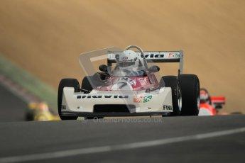 © 2012 Octane Photographic Ltd. HSCC Historic Super Prix - Brands Hatch - 30th June 2012. HSCC - Classic Formula 3 - Qualifying. Richard Trott - Chevron B43. Digital Ref: 0381lw1d8291