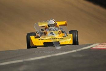 © 2012 Octane Photographic Ltd. HSCC Historic Super Prix - Brands Hatch - 30th June 2012. HSCC - Classic Formula 3 - Qualifying. Maxence Thoinard - Chevron B47. Digital Ref: 0381lw1d8362