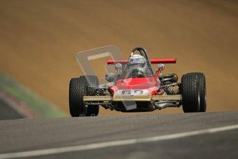 © 2012 Octane Photographic Ltd. HSCC Historic Super Prix - Brands Hatch - 30th June 2012. HSCC - Classic Formula 3 - Qualifying. Albert Clements - Lotus 69. Digital Ref: 0381lw1d8382